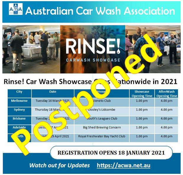 postponed rinse